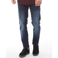French Connection Mens James Tapered Fit Jeans IND23 Midwash Stretch