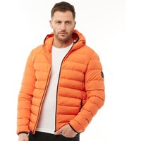 French Connection Mens Row 2 Hooded Jacket Orange