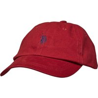 U.S. POLO ASSN. Mens Buckleigh Baseball Cap Tibetan Red