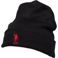 U.S. POLO ASSN. Mens Willow Beanie Black