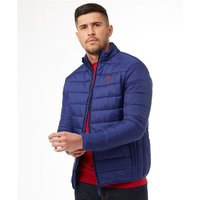U.S. POLO ASSN. Mens Rev Jacket Navy