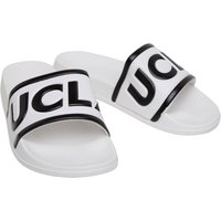 UCLA Mens Logo Sliders White