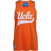 UCLA Mens Contrast Piping Vest Orange Peel
