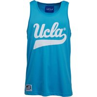 UCLA Mens Contrast Piping Vest Bonnie Blue