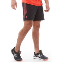 Under Armour Mens Woven Graphic Shorts Black