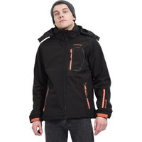 Backlight  Softshell jacket with hood  men's Sweatshirt in Black