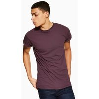 Mens Red Burgundy Roller T-Shirt, Red