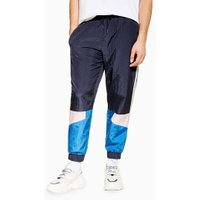 Mens Multi Blue And Pink Shell Bottoms, Multi