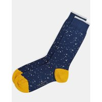 Starry Night Cotton Socks