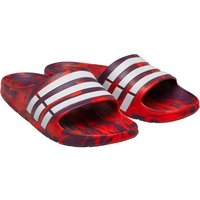 adidas Duramo Slides Scarlet/Footwear White/Core Red