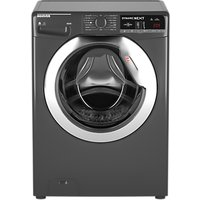 Hoover WDXOA485CR Washer Dryer, 8kg Wash/5kg Dry Load, A Energy Rating, Graphite