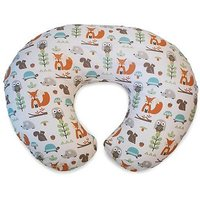 Boppy Pillow With Cotton Slipcover Modern Woodland