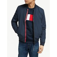 Tommy Hilfiger Padded Bomber Jacket, Sky Captain