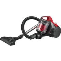 ESSENTIALS C700VC18 Cylinder Bagless Vacuum Cleaner - Red & Grey, Red