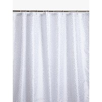 House by John Lewis Spots Shower Curtain