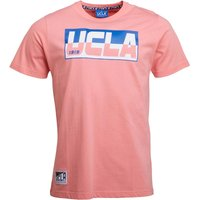 UCLA Mens Meyers T-Shirt Flamingo Pink