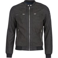 Kaporal  RICO  men's Leather jacket in Black