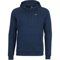 Under Armour  RIVAL FLEECE PO HOODIE  men's Sweatshirt in Blue