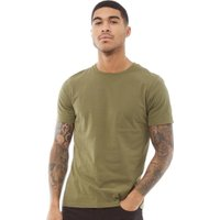Fluid Mens Plain T-Shirt Burnt Olive
