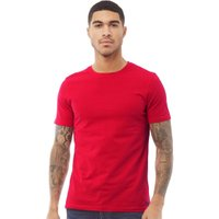 Fluid Mens Plain T-Shirt Red