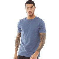 Fluid Mens Plain T-Shirt Vintage Indigo