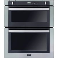 Stoves SGB700PS Double Built-Under Gas Oven, Stainless Steel