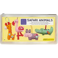 Paper and String Sew Your Own Safari Animals Kit