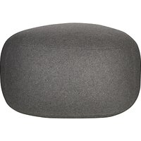House by John Lewis Pebble Pouffe, Steel