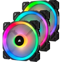 CORSAIR LL120 120 mm Case Fan - RGB LED, Triple Pack
