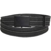 Kangaroo Poo Mens Heavy Canvas Belt Washed Black