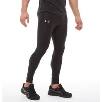Under Armour Mens HG HeatGear Run True Tight Leggings Black/Black/Reflective