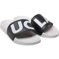 UCLA Mens Logo Sliders White/Black
