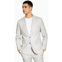 Mens Grey Stone Slim Blazer, Grey
