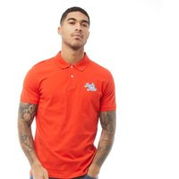 JACK AND JONES Mens Originals Five Polo Fiery Red
