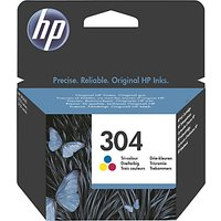 HP 304 Tri-Colour Ink Cartridge