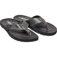 Onfire Mens Toe Post Sandals Charcoal