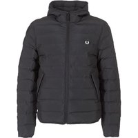 Fred Perry  INSULATED HOODED JACKET  men's Jacket in Black