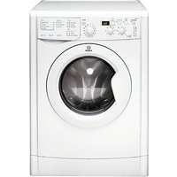 Indesit IWDD7123 Washer Dryer, 7kg Wash/5kg Dry Load, B Energy Rating, 1200rpm Spin, White