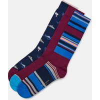 Three Pack Cotton Sock Set