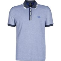 BOSS Athleisure  PADDY 2  men's Polo shirt in Blue