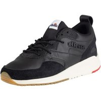 Ellesse  Men's Potenza Leather Trainers, Black  men's Shoes (Trainers) in Black