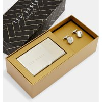 Cufflink And Card Holder Set