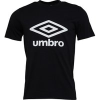 Umbro Mens Active Style Logo T-Shirt Black/White