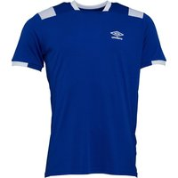 Umbro Mens Active Style Poly T-Shirt Deep Surf/White
