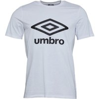 Umbro Mens Active Style Logo T-Shirt White/Black
