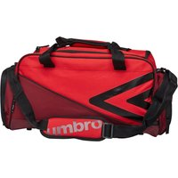 Umbro Pro Training Small Holdall Red/Claret/Black
