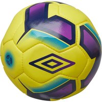 Umbro Neo Professional Football Yellow/Navy/Purple/Blue