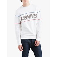 Levi's Reflective Sweatshirt, Piping White/Reflective