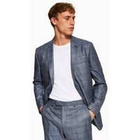 Mens Blue Slim Blazer, Blue