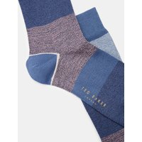 Block Colour Cotton Socks